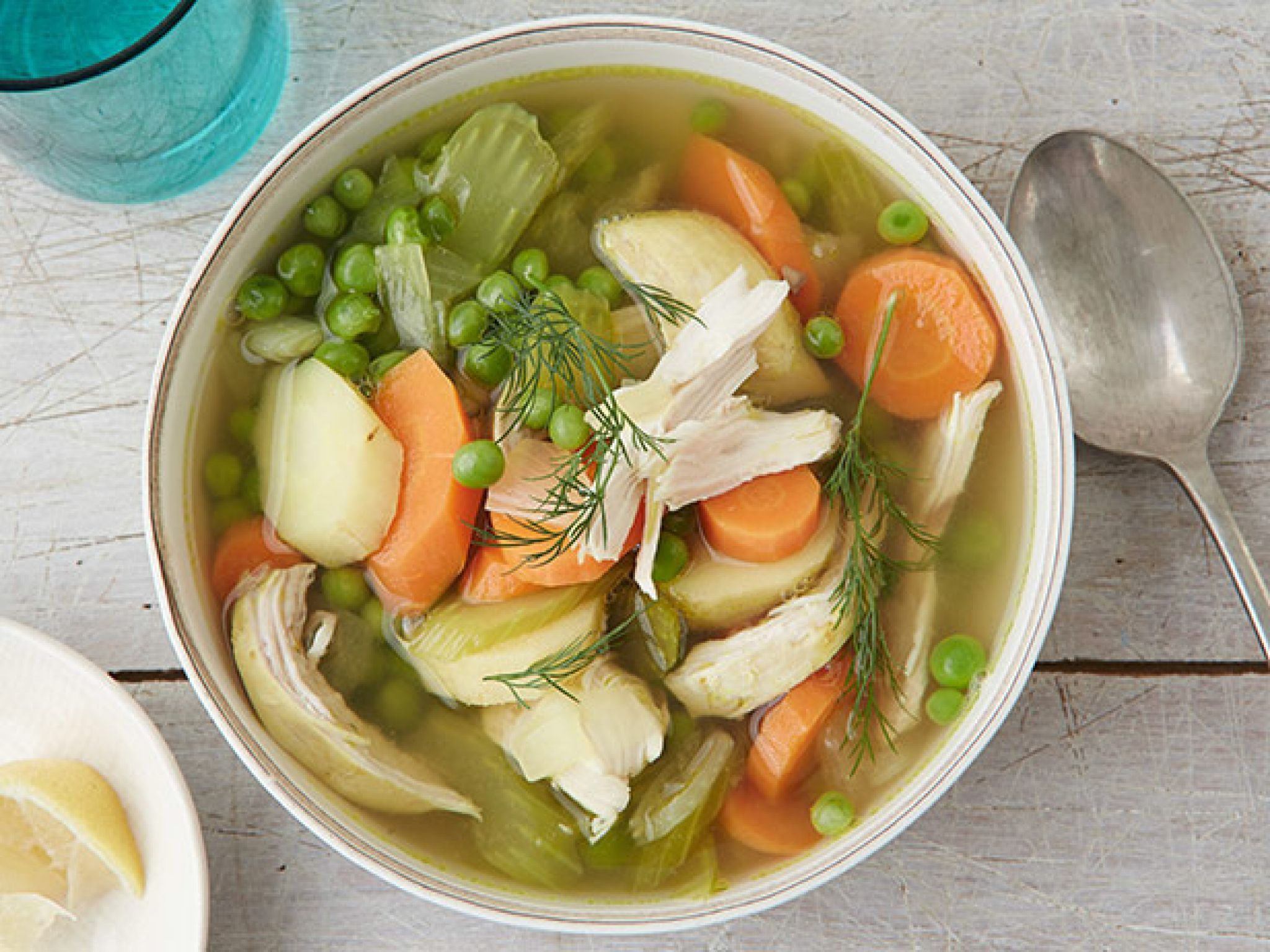 Slow cooker chicken and vegetable soup receta sopas y comida forumfinder Image collections