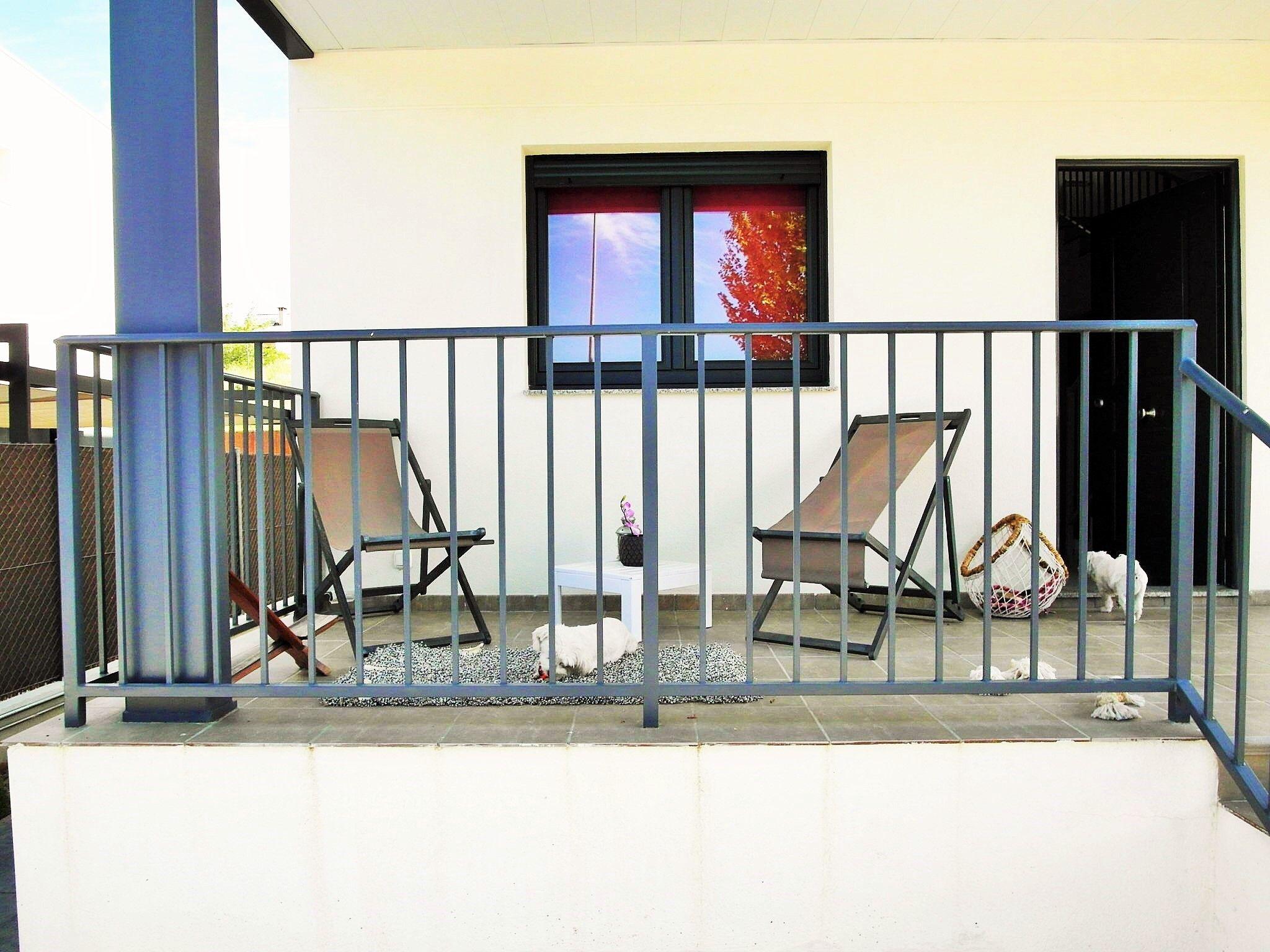 Barandilla balaustrada para vivienda moderna casas de - Viviendas de acero ...