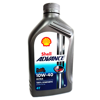 Ebay Advertisement Engine Oil For Max Scooter Shell Advance 10w40