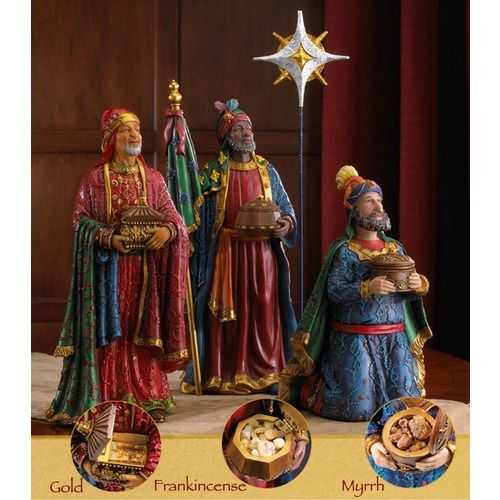 a7fea8f83cc Real Life Nativity Set Three Kings - Deluxe