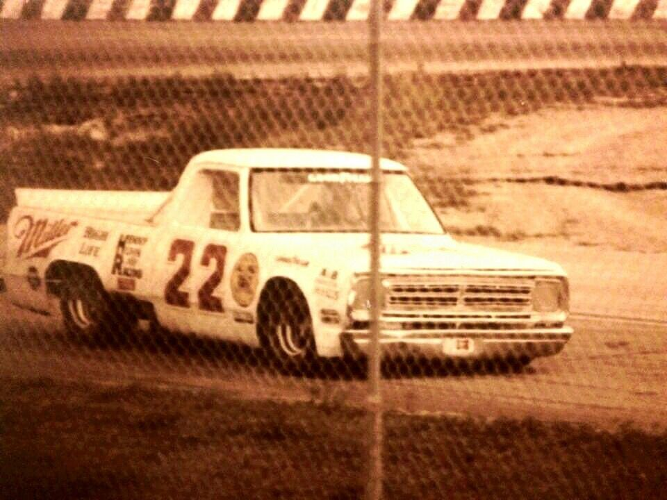 Vintage race truck dodge mopar