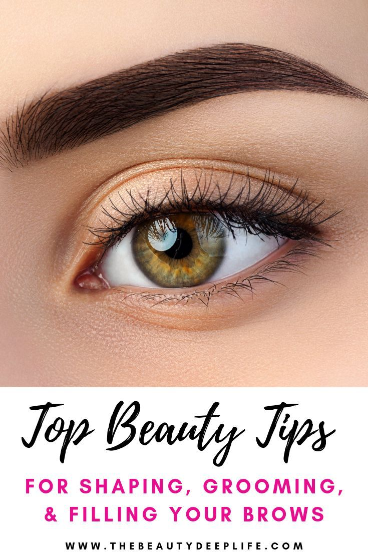 Eyebrow Tips and tricks for shaping, plucking, and filling ...