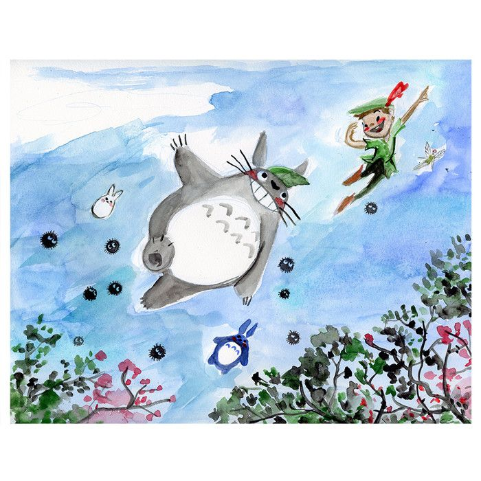 Genevieve Santos: We're Flying Limited Edition Print By