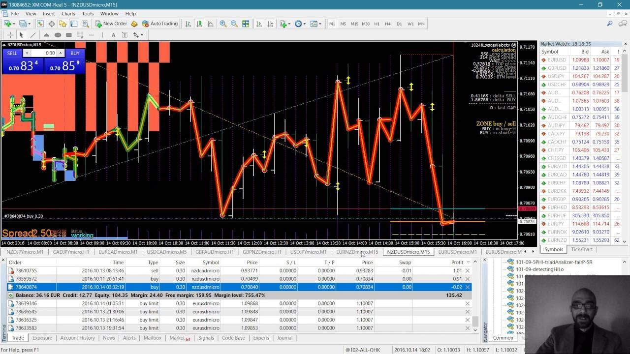 Hedging In Forex With Mt4 On Real Account 5phi Trading System