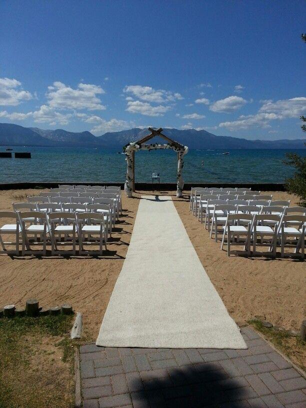 Lakeside Beach South Lake Tahoe Wedding Venues