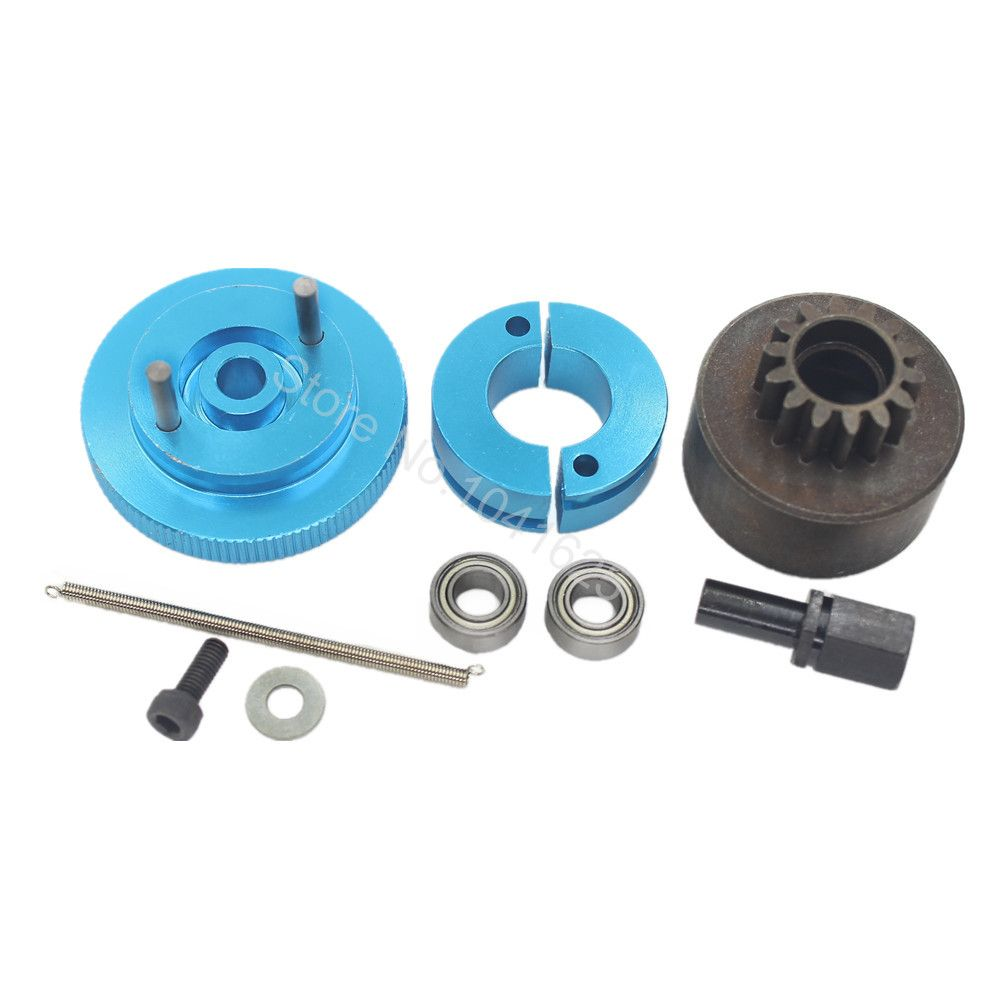 1 Set Flywheel Clutchbell 14T 10095 Tooth Clutch Bell with Ball ...