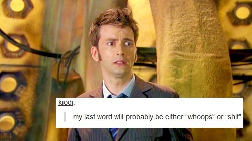 Doctor Who Tumbler text posts