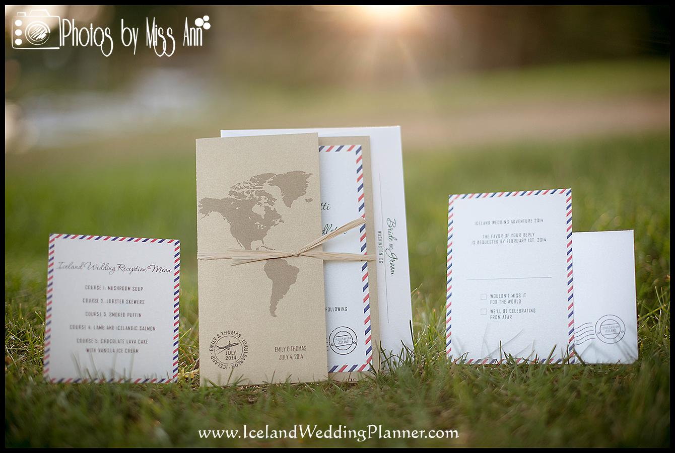 Iceland Wedding Planner Creative Destination Invitations For Weddings