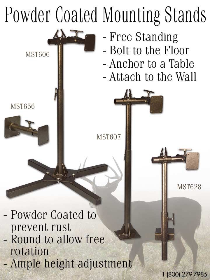 Mckenzies powder coated mounting stands taxidermytalk httpwww mckenzies powder coated mounting stands taxidermytalk httpmckenziesp solutioingenieria Images