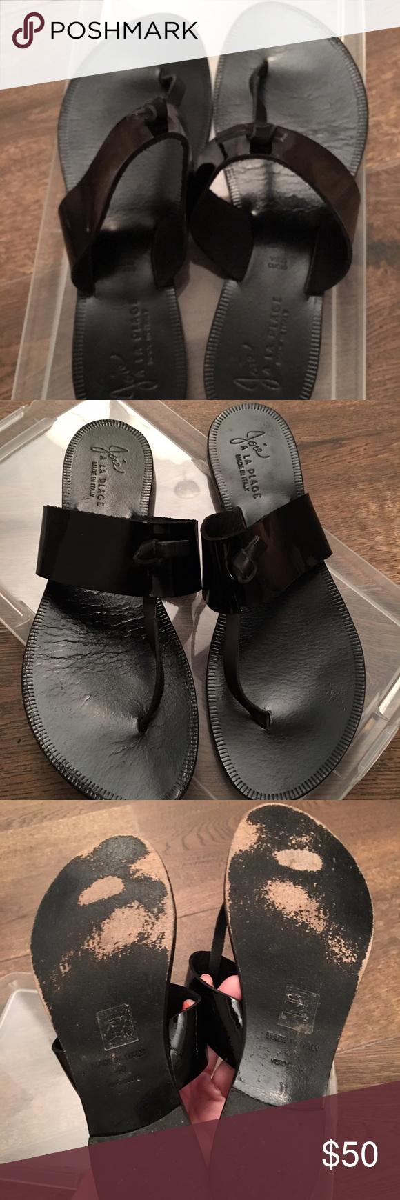 Black nice sandals - Joie Nice Sandals