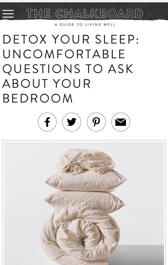 Detox Your Sleep Uncomfortable Questions to Ask About ...