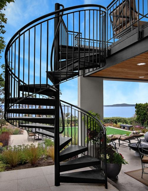 Outdoor Exterior Spiral Staircase The Best Design For Your Home Staircase Outdoor Outdoor Stairs Exterior Stairs
