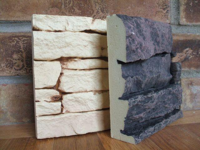 Attractive Interior Wall Covering Ideas. Faux Stone VeneerStone ...