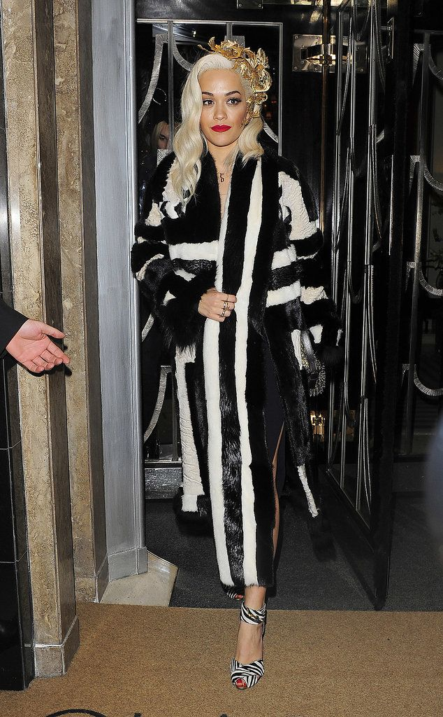 Rita Ora - Playboy's 60th Anniversary Issue Party in London 2 December 2013