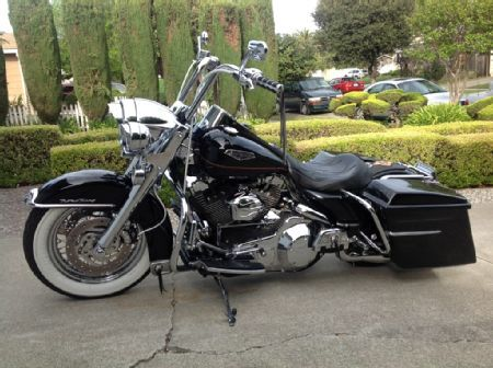 Rkc2001 2001 Harley Davidson Flhrc Road King Classic Photo 3 2001 Flhrc Road King Classic Photo Gallery Baggers