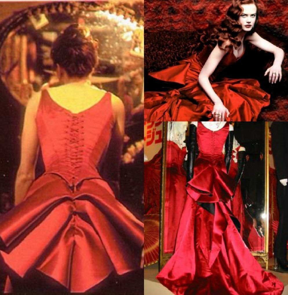 moulin rouge satine dress outfits from movies. Black Bedroom Furniture Sets. Home Design Ideas