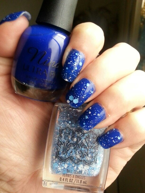 My latest: Night snow using Nina Ultra Pro Cobalt with a topping of ...