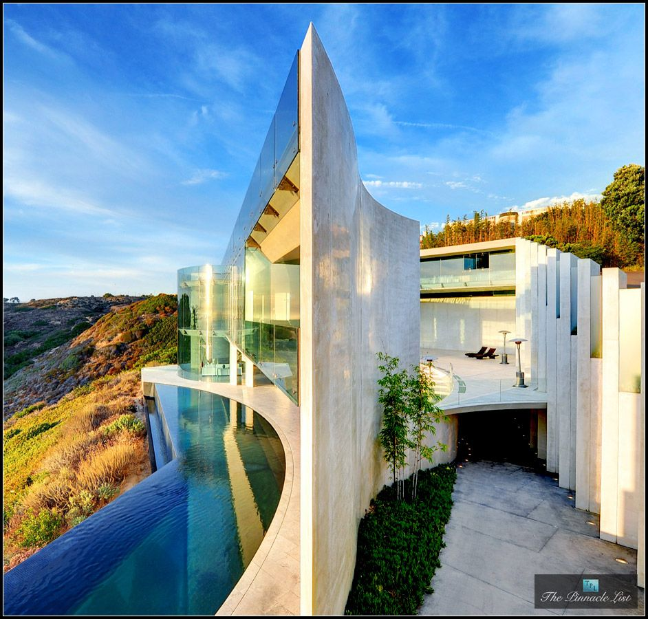 The most famous artistic view of The Razor Residence, an ...
