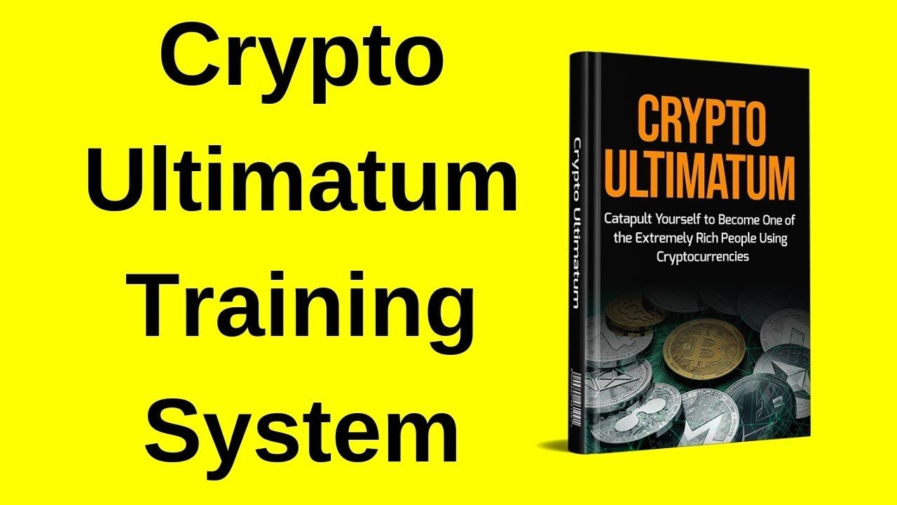 Crypto Ultimatum Training System | Train, System, Rich people