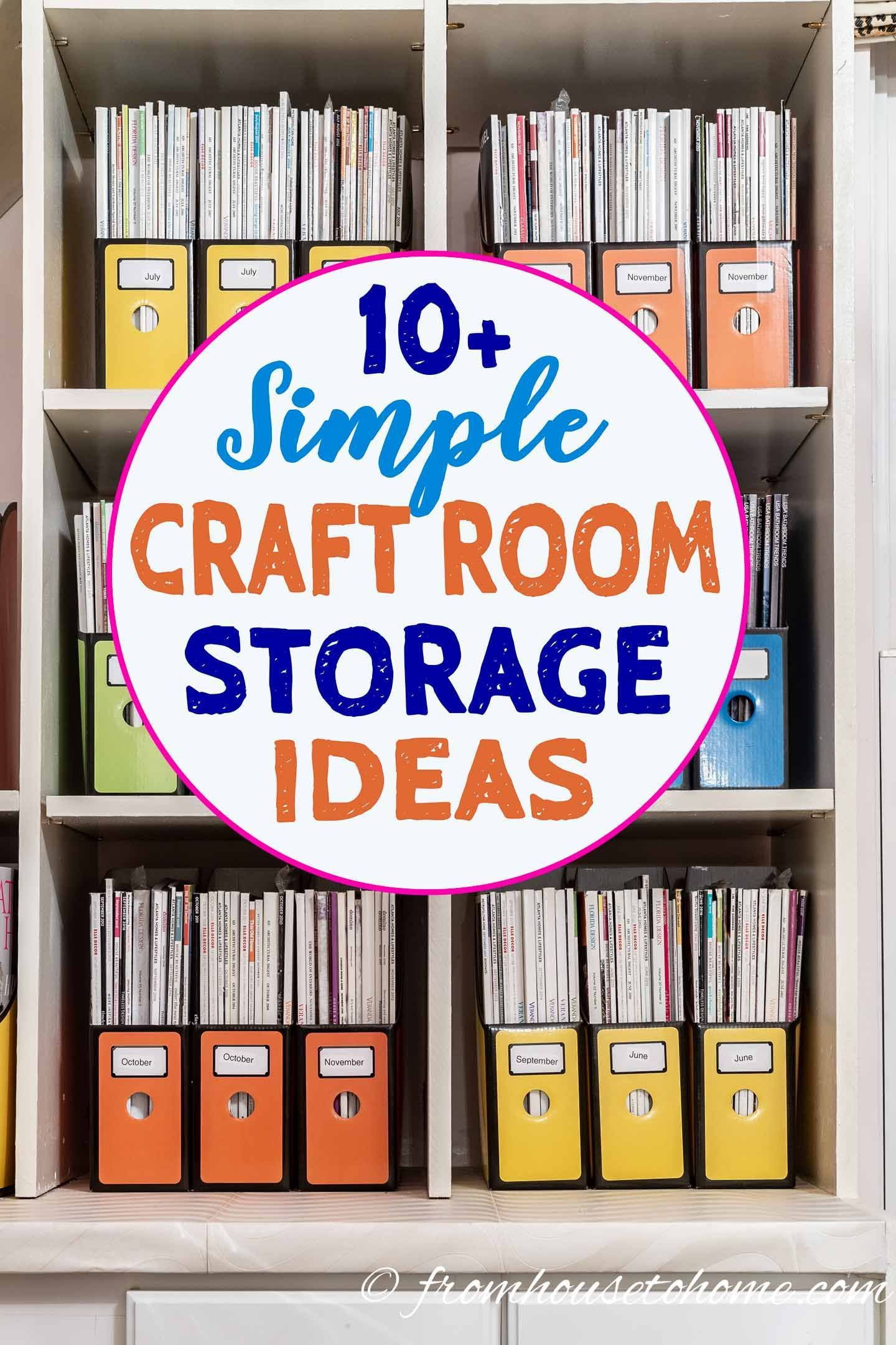 32++ Craft organization ideas for small spaces ideas