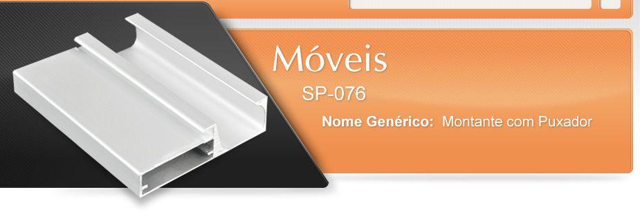 Móveis - SP-076 - Montante com puxador