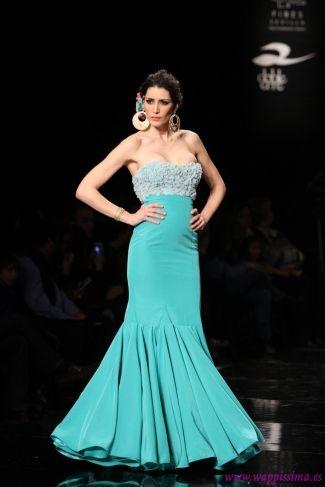 Traje de Flamenca - Mercedes-Mestre - Simof-2015
