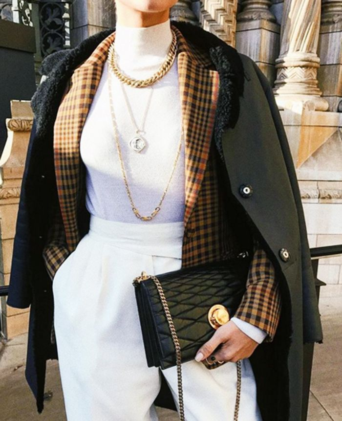 The 2018 Way to Layer Your Clothes via @WhoWhatWearUK  The Effective Pictures We Offer You About Fit...