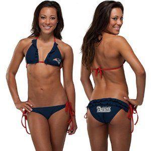 Women's England BikiniNation String Patriots New HDIE29