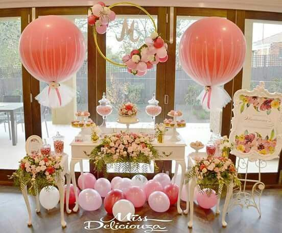 beautiful balloon decorations for birthday wedding shower tea party