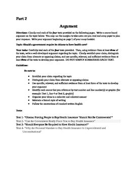 Health Care Practice Argument For The Ny Common Core Regent Ela Exam Against Capital Punishment Essay Pro