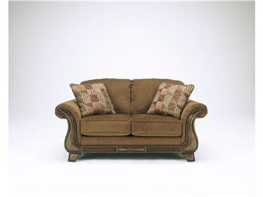 Shop For Signature Design Loveseat 3830035 And Other Living Room Loveseats At Blockers Furniture In Ocala Fl With Love Seat Ashley Furniture Brown Loveseat
