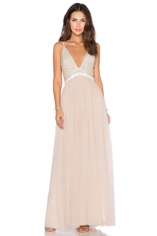 Cream dresses for weddings  REVOLVEclothing  Wedding Dresses  Pinterest  Maxi dresses Summer
