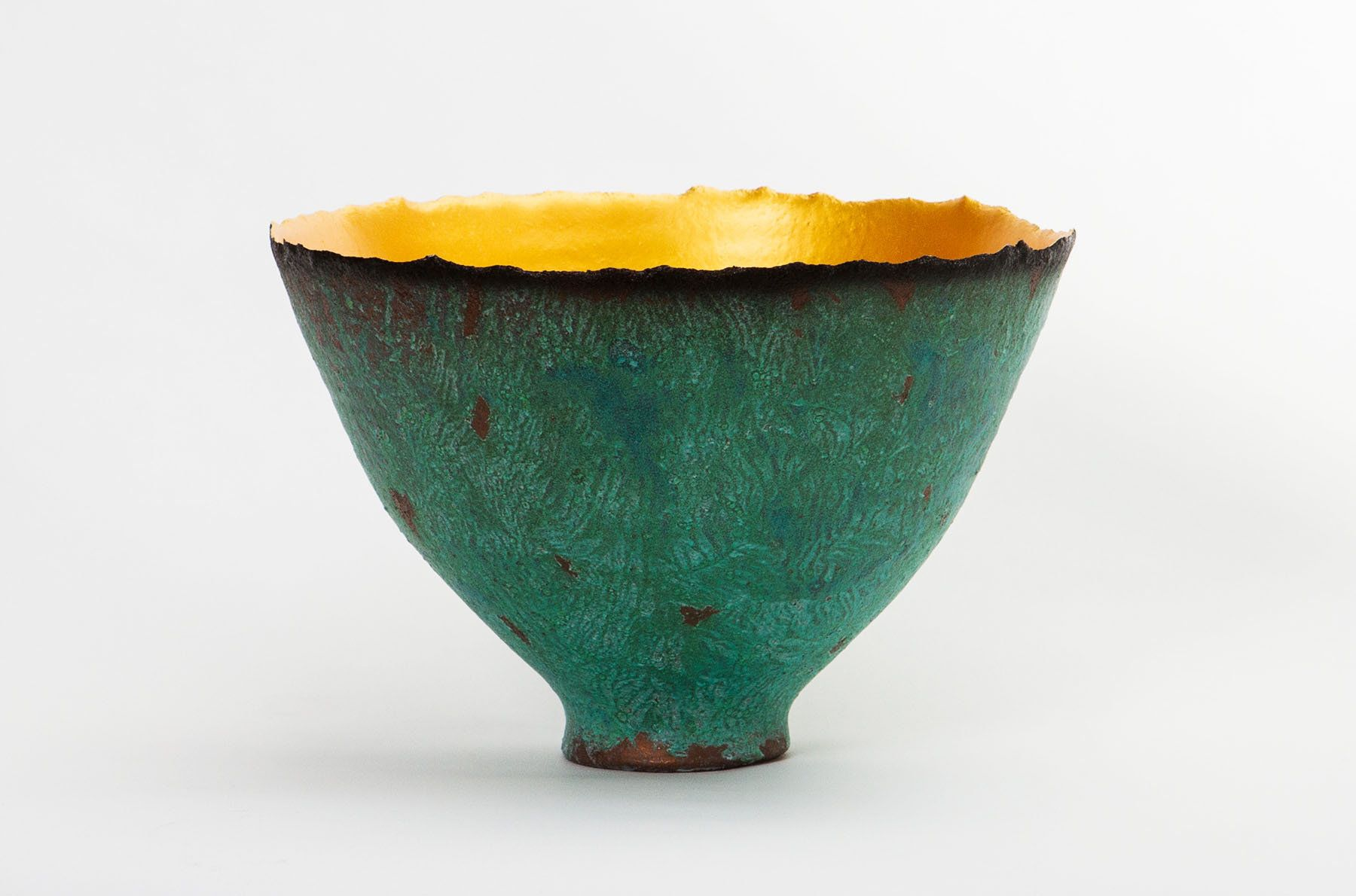 Decorative Ceramic Bowl Patina Prosperity Bowlcheryl Williams Ceramic Bowl  Pottery