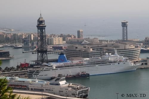 MS Thomson Dream in Barcelona