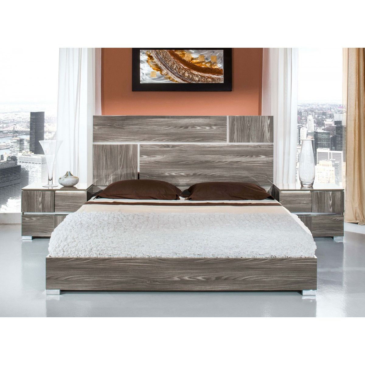 Modern & Contemporary Bedroom Sets | AllModern | Wood ...