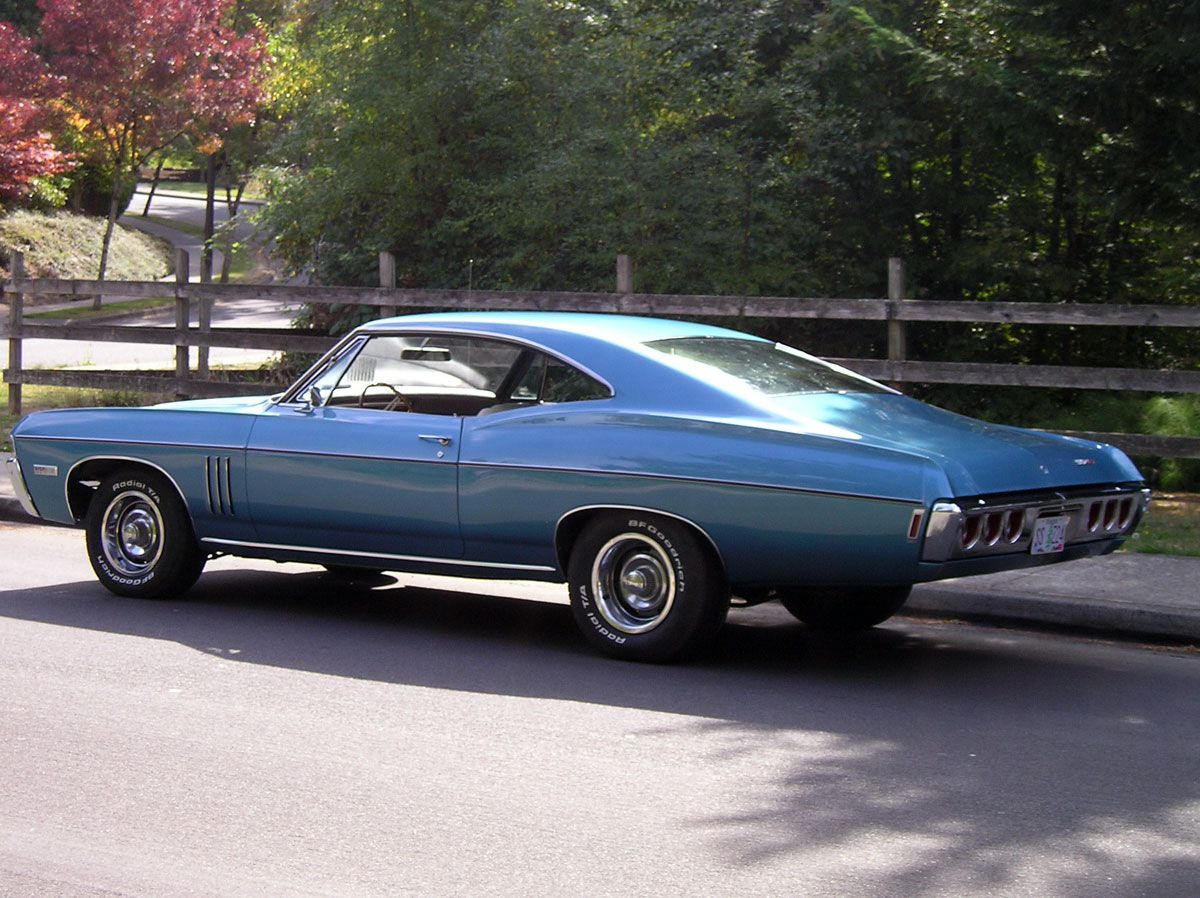 Impala 1968 chevy impala parts : 1968 Impala Fastback | This Grotto Blue L-72 car is owned by Grant ...