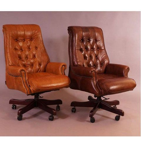 Belford Burostuhl Vintage Cigar Bild Furniture Home Decor Office Chair