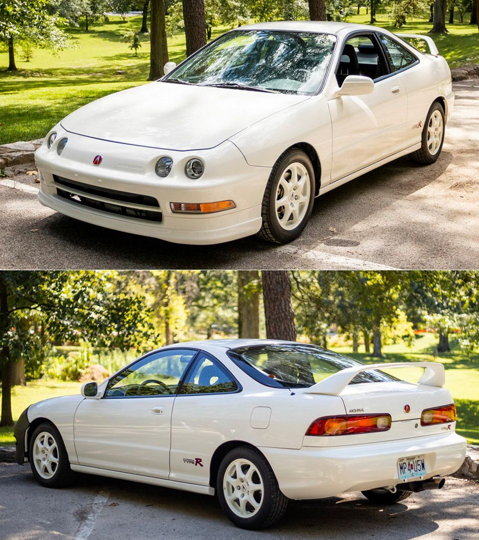 This 1997 Acura Integra Type R Sold For A Whopping $82K