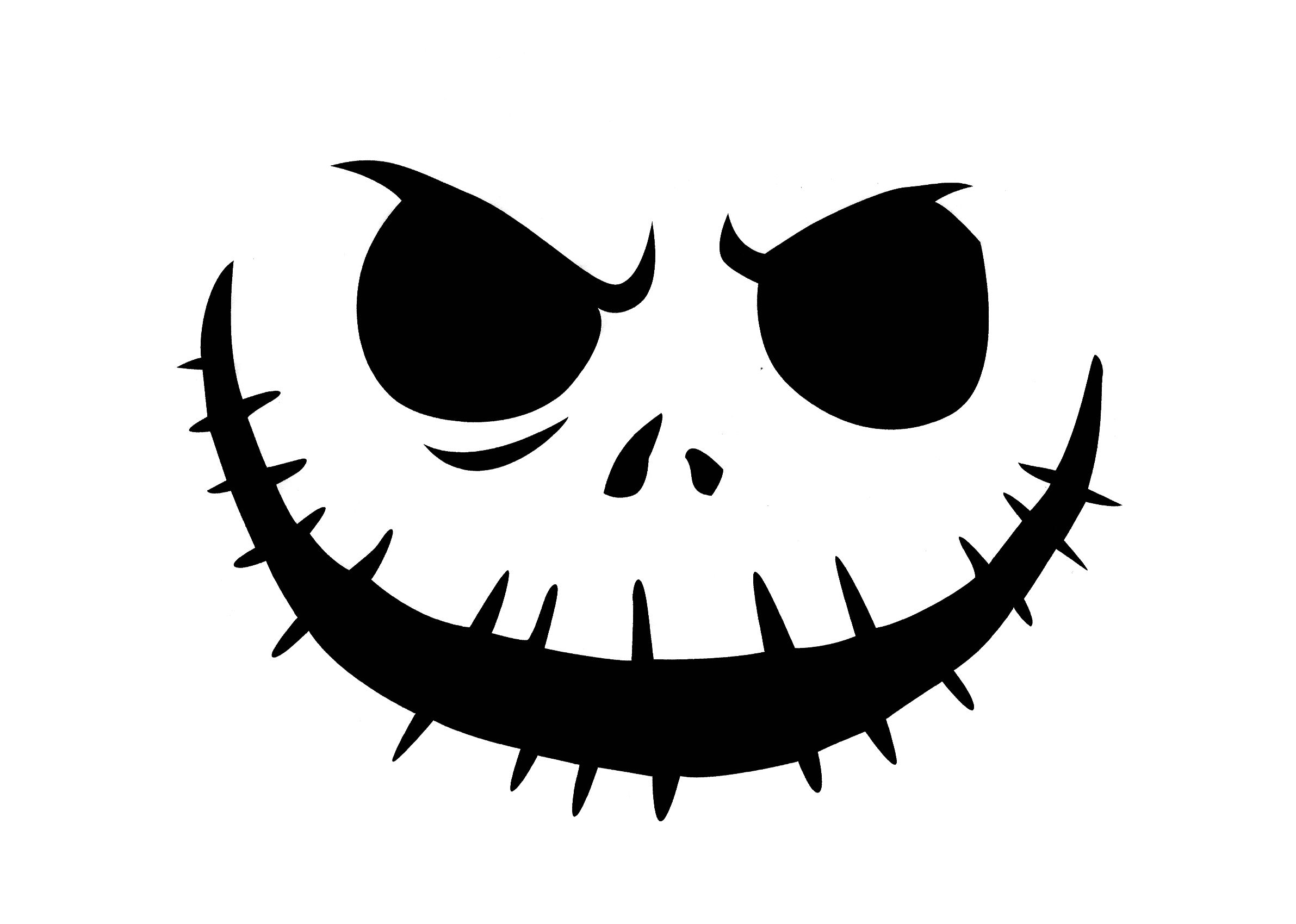 Get scary nerdy with these geeky Jack-o-Lantern stencils
