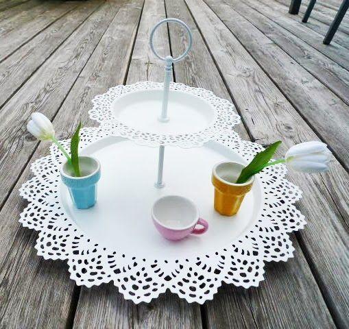 DIY Etagere Aus Ikea Skurar Tellern