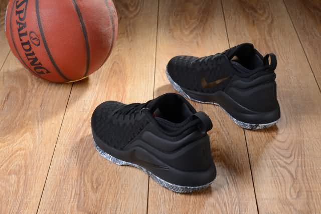 874995746bfe Cheap Nike LEBRON Witness 2 FLYKNIT All Black Mens shoes