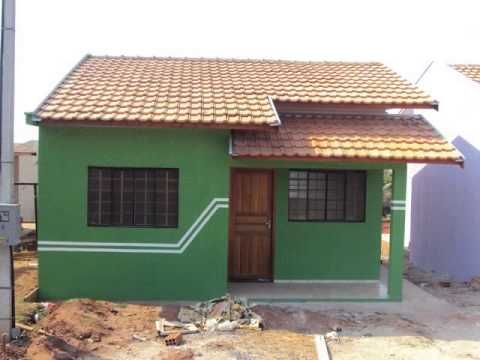 modelos de fachadas de casas baratas
