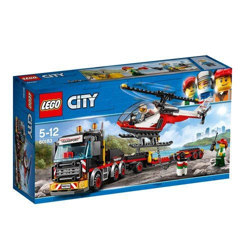 Superb LEGO 60183 City Heavy Cargo Transport Now At Smyths Toys UK ...