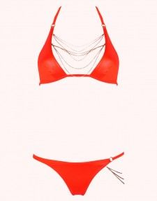 584e64d02c Tonya Bikini Bottoms Orange | High Fashion | Bikinis, Bikini tops ...
