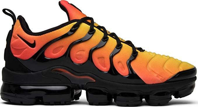 1bcf2a00885 NIKE Mens Air Vapormax Plus Black Total Orange Neoprene size 10.5 ...