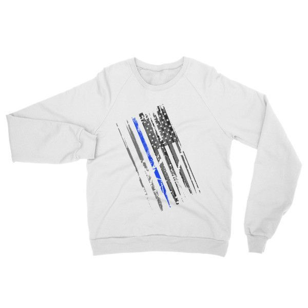 Thin Blue Line Flag Raglan sweater