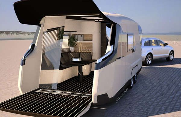 Off Road Ready Luxury Rvs Luxury Campers Camping Trailer Cool Rvs