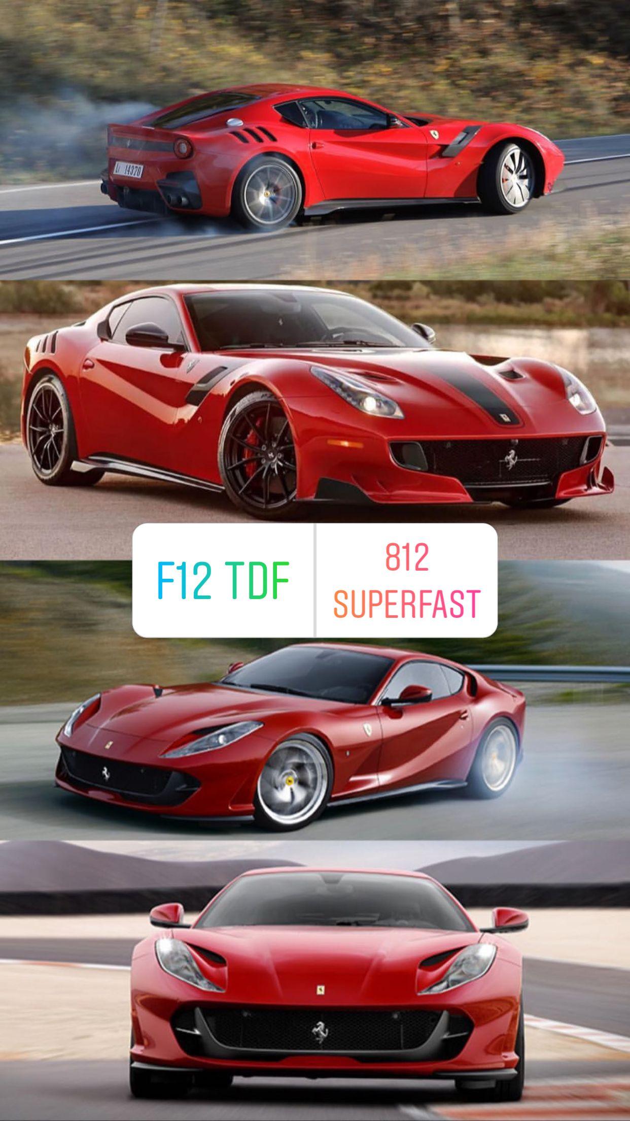 Ferrari F12 Vs 812 : ferrari, Superfast, Ferrari, Ferrari,, Dream