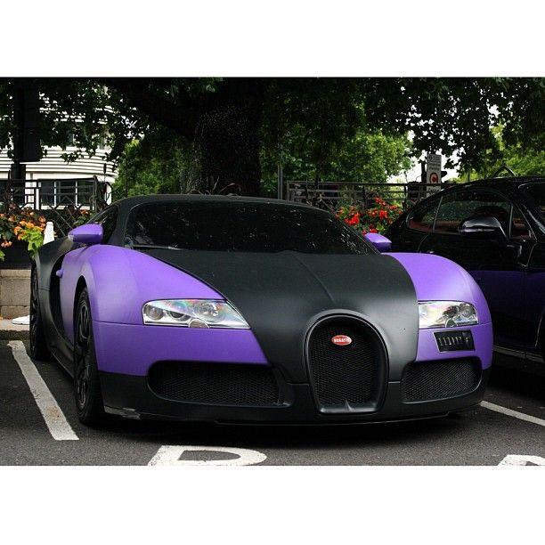 Gold Bugatti Veyron Super Sport: Sexy Purple Bugatti Veyron