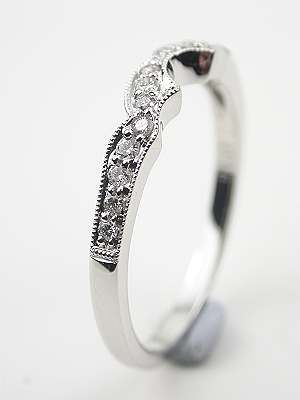 Antique Style Diamond Wedding Band Rg 2809wb In 2018 Vintage